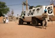 Mali: deux Casques bleus tués et 10 blessés dans une attaque