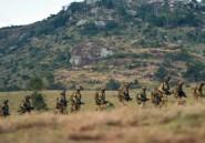 Au Kenya, les soldats britanniques s'exercent