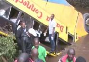 Un car tombe dans une rivière au Kenya, au moins 17 morts