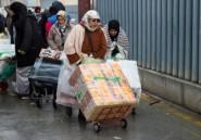 """Entre le Maroc et Ceuta, le fardeau un peu moins lourd des """"femmes-mulets"""""""
