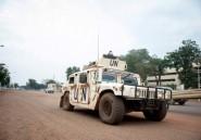 Le président centrafricain réclame davantage de Casques bleus
