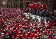 """Afrique du Sud: grève générale pour dénoncer un salaire minimum """"d'esclave"""""""