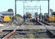 Afrique du Sud: sept morts dans un accident de train