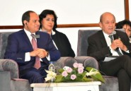Jean-Yves Le Drian en Egypte pour des entretiens