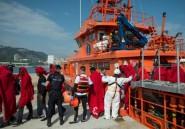Espagne: 532 migrants secourus en Méditerranée durant le week-end