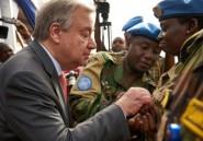 Le secrétaire général de l'ONU dans le centre du Mali