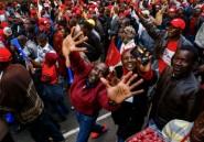 """Zimbabwe: des milliers de manifestants de l'opposition pour des élections """"libres et justes"""""""