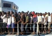 Près de 700 migrants secourus au large de la Libye en deux jours (marine)