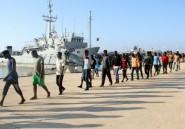 Cinq migrants morts, près de 200 secourus au large de la Libye (marine)