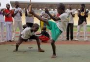 A Bangui, la capoeira pour surmonter la guerre et la violence