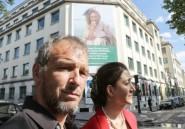 France: un portrait géant de Sophie Pétronin, otage au Mali, dévoilé