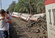 Egypte: 55 blessés dans le déraillement d'un train