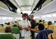 Des chants, des danses et des larmes, pour un vol historique entre l'Ethiopie et l'Erythrée