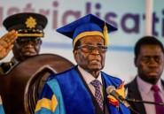 Zimbabwe: conférence de presse de l'ex-président Mugabe