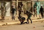 A Harare, l'armée répond