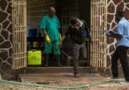"""Ebola en """"zone de guerre"""" en RDC: inquiétude majeure"""