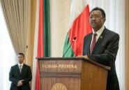 Le président malgache candidat