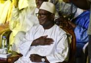 Ibrahim Boubacar Keïta, réélu président du Mali, tend la main