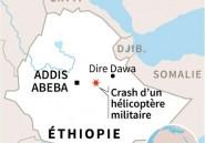 Ethiopie: 18 morts dans le crash d'un hélicoptère militaire
