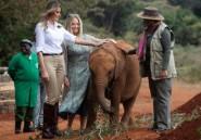 Melania Trump au Kenya: bébés éléphants et safari au programme