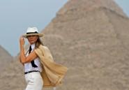 Melania Trump boucle sa tournée africaine en Egypte