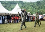 Ouganda: Museveni sur les lieux du glissement de terrain meurtrier