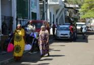 Visite du président des Comores