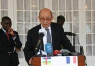 Centrafrique: aide de 24 millions d'euros et livraison d'armes de Paris