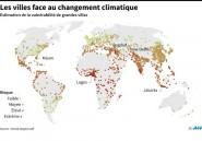 """Climat: risque """"extrême"""" pour deux tiers des villes africaines"""