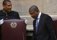 Le président angolais se dit déterminé