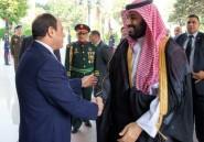 """Visite du prince héritier saoudien en Egypte: Sissi défend la """"stabilité"""" de l'Arabie"""