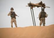 Face au Mali, les soldats mauritaniens de la force du G5 Sahel veillent