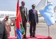 Le président érythréen rend visite