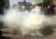 Soudan: la police disperse une nouvelle marche vers la présidence