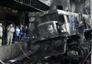 Egypte: 20 morts dans un accident en gare du Caire