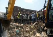 Nigeria: un immeuble s'effondre
