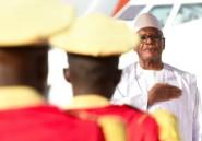 Mali: sur le lieu d'une tuerie, le  président Keïta promet que justice sera faite