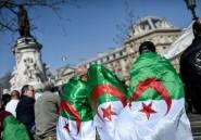 Des centaines d'Algériens de France manifestent