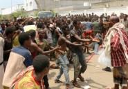 Yémen: une foule de migrants africains parquée dans un stade d'Aden