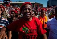 """En Afrique du Sud, la """"rock star"""" de la gauche radicale en campagne"""