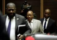 Afrique du Sud: le parquet requiert le maintien des charges contre Zuma
