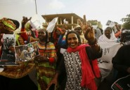 Marche de Soudanaises vers le sit-in devant le QG de l'armée