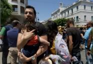 """Après """"l'enfer"""", des Tunisiens crient """"dehors les terroristes!"""""""