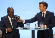 """A Paris, les présidents français et ghanéens vantent le """"rôle essentiel"""" des diasporas africaines"""