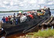 RDC: 11 morts et une cinquantaine de disparus dans un naufrage sur une rivère du centre