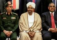 """Soudan: arrivée au tribunal du président déchu Omar-el-Béchir, jugé pour """"corruption"""" (AFP)"""
