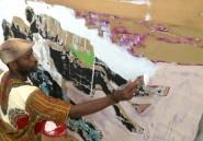 """Armand Boua, peintre d'une réalité ivoirienne """"fugace et persistante"""""""