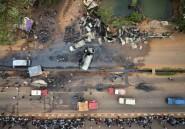 Au moins sept morts dans l'explosion d'un camion-citerne