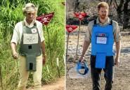 Angola: le prince Harry ému de marcher dans les pas de Diana pour dénoncer les mines