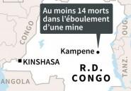 RDC: au moins 14 morts dans l'éboulement d'une mine artisanale dans l'Est